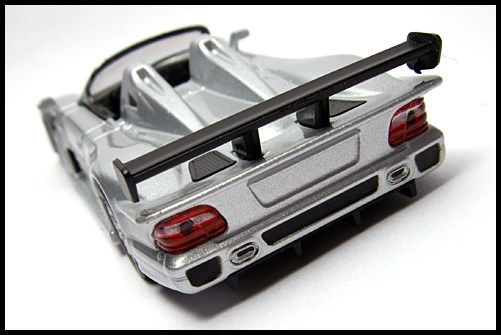 KYOSHO_AMG_Minicar_Collection_CLK_GTR_Roadster_Silver_13
