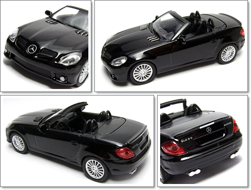 KYOSHO_AMG_Minicar_Collection_Mercedes_Benz_SLK_55_AMG_Black_9