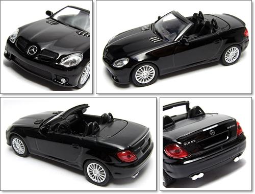 KYOSHO_AMG_Minicar_Collection_Mercedes_Benz_SLK_55_AMG_Black_9