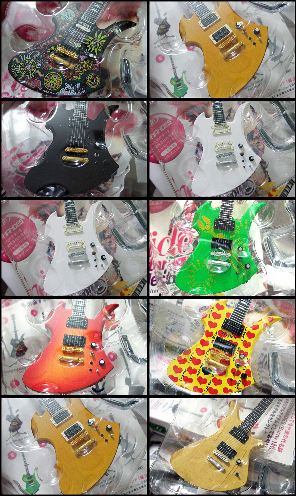 hide_Guitar_Collection_3