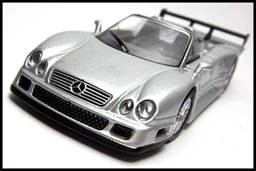 KYOSHO_AMG_Minicar_Collection_CLK_GTR_Roadster_Silver_4