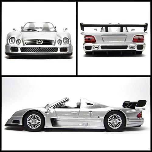 KYOSHO_AMG_Minicar_Collection_CLK_GTR_Roadster_Silver_7