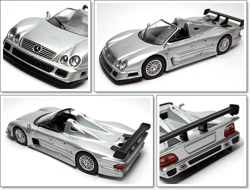 KYOSHO_AMG_Minicar_Collection_CLK_GTR_Roadster_Silver_8
