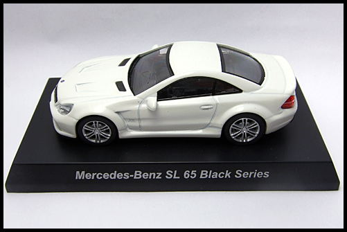 KYOSHO_AMG_Minicar_Collection_Mercedes_Benz_SL_65_Black_Series_1
