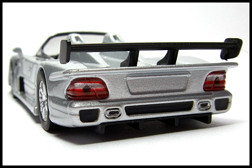 KYOSHO_AMG_Minicar_Collection_CLK_GTR_Roadster_Silver_11