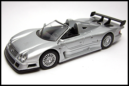 KYOSHO_AMG_Minicar_Collection_CLK_GTR_Roadster_Silver_15