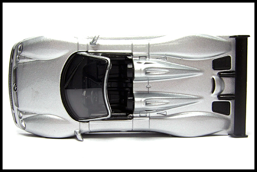 KYOSHO_AMG_Minicar_Collection_CLK_GTR_Roadster_Silver_6