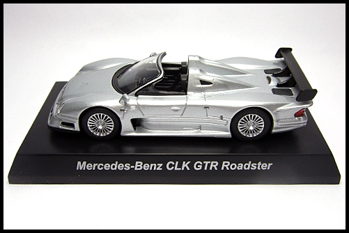 KYOSHO_AMG_Minicar_Collection_CLK_GTR_Roadster_Silver_2