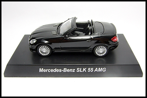 KYOSHO_AMG_Minicar_Collection_Mercedes_Benz_SLK_55_AMG_Black_1
