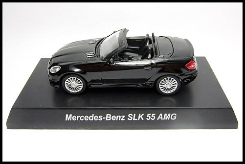 KYOSHO_AMG_Minicar_Collection_Mercedes_Benz_SLK_55_AMG_Black_1